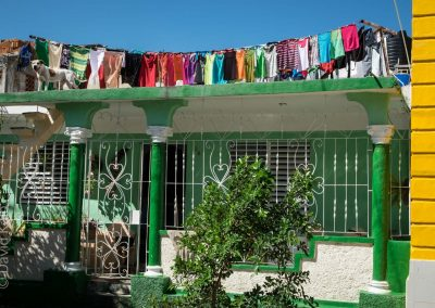 Cuba colorful laundry