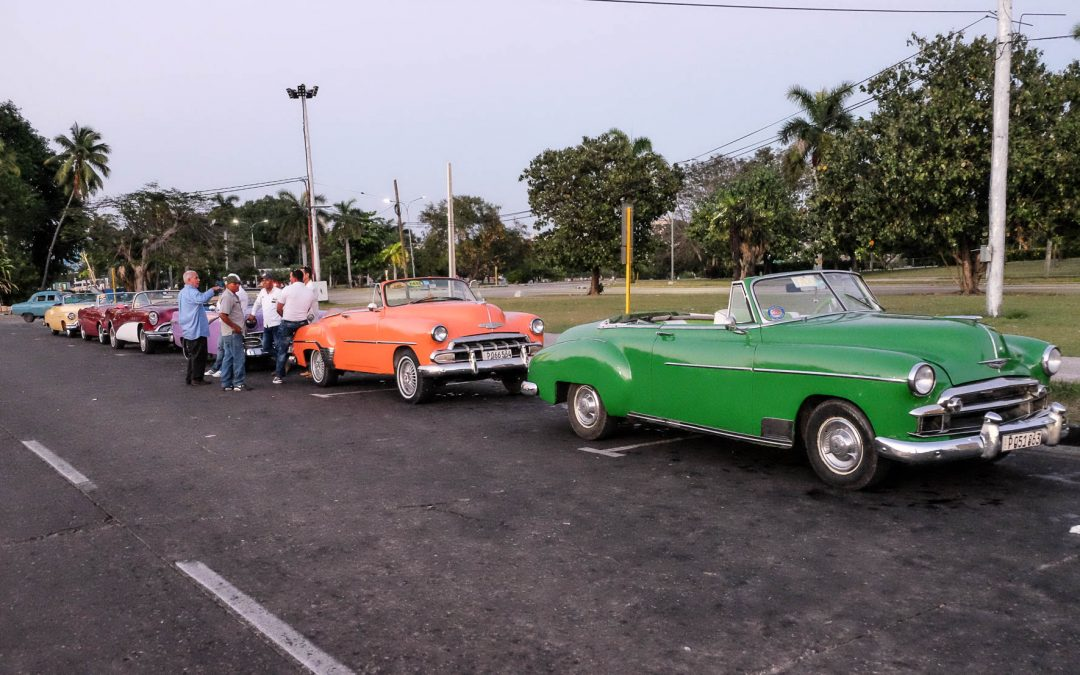 1950's Classic vehicles in 2017 Havana Cuba