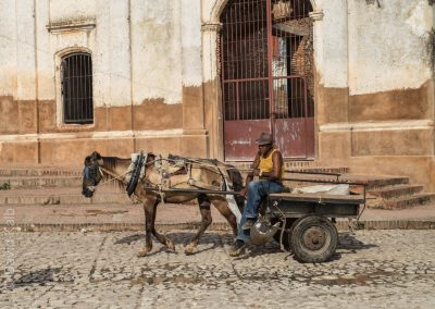 Cuba horse drawn carriage