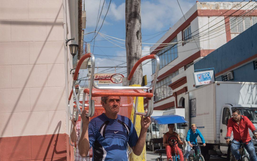 Lawn Chairs in Holguin Cuba