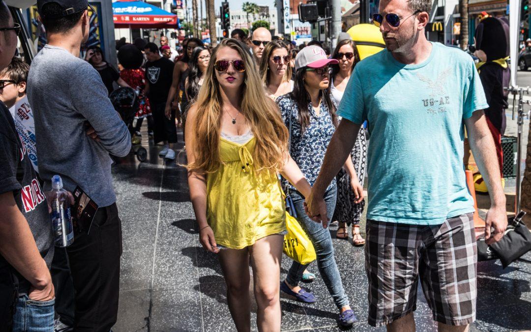 Walking Hollywood Blvd