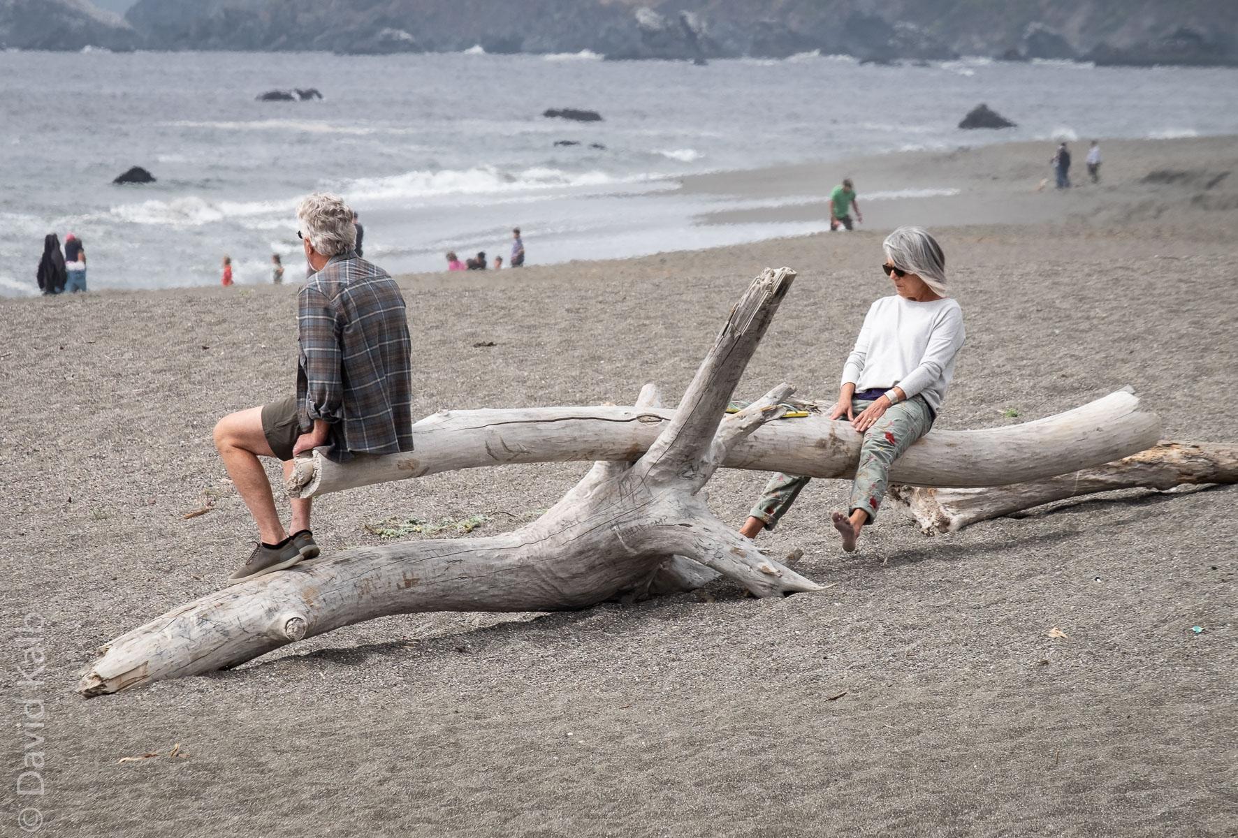 Couple On Sonoma Coast
