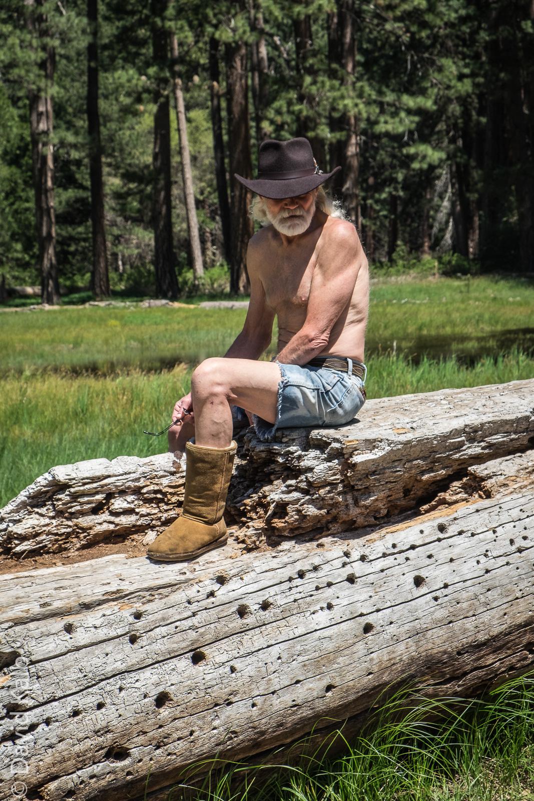 Yosemite Mountain man