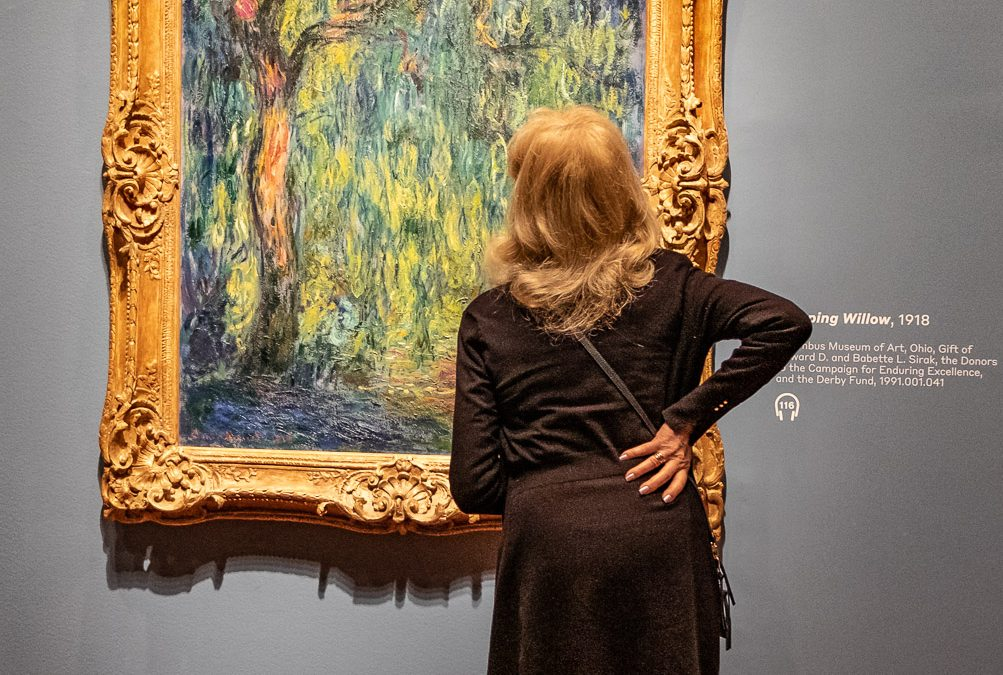 Monet's Weeping Willow