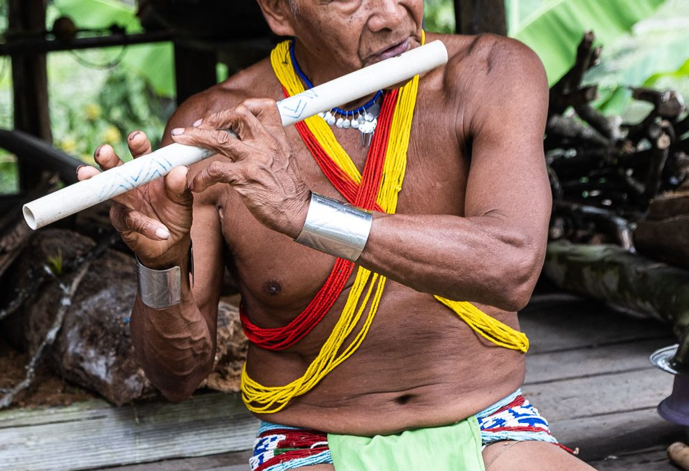Embera Musician